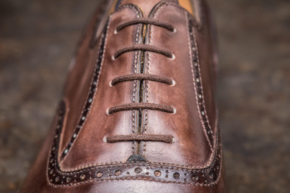 Half Brogue Oxford Detail